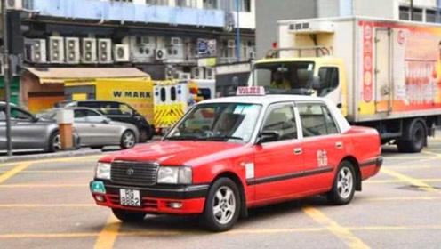 港片中出镜率最高的出租车,一块车牌700万,竞拍都买不到!