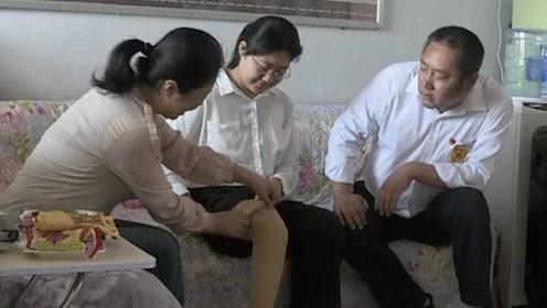 励志!截肢女孩高考考512分,欲学医助人