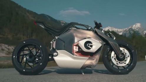 电动汽车如火如荼?宝马摩托也没闲着,电动跑车已经发布了!