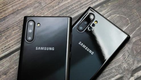 三星Galaxy Note 10机模曝光:挖孔屏屏幕指纹确认