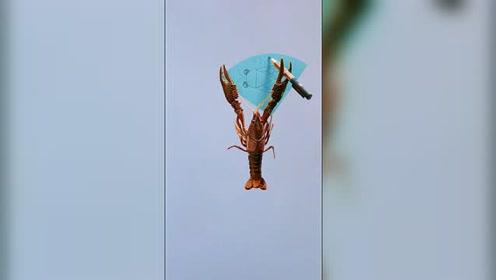 高考不可怕,就怕小龙虾学画画
