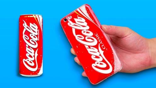 3个手机DIY创意小物件,没想到还能造出这神器,你一定想不到
