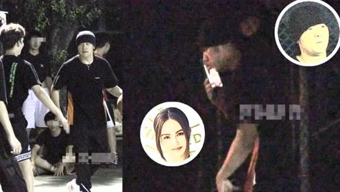 周杰伦林俊杰萧敬腾打球被围观 小公举还偷偷与昆凌视频