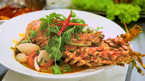 贵到吓人的西贡龙虾面,鲜嫩美味百吃不厌