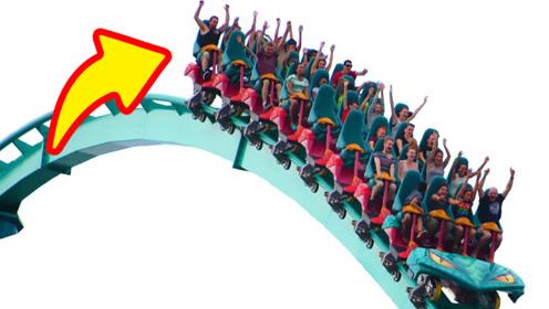坐过山车时,坐在第几排最恐怖最刺激?很多人都想错了
