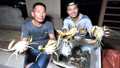 阿烽开渔季首次出海下地笼,三个月禁海期,海里满满都是货