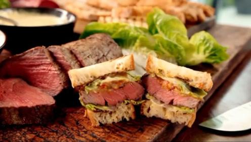 菲力牛排三明治美味的秘密,随意但不失标准