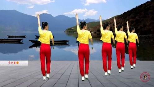 加长版韵律健身操《全身运动》跟着背面就可以跳起来