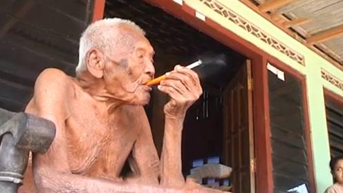 世界上最年长的老人:有四个妻子 长寿秘诀原来是这个