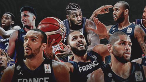 法国男篮世预赛高光集锦 富尼耶强杀内线滞空拉杆2+1