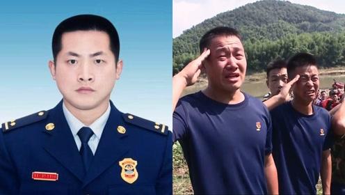 致敬!实拍:浙江消防员英勇牺牲 遗体打捞现场 战友泣不成声