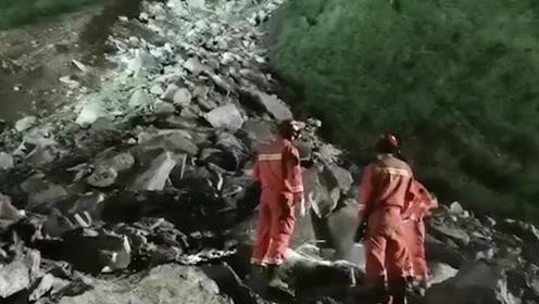 救援现场!成昆铁路线四川甘洛县山体垮塌初步确认17人失联