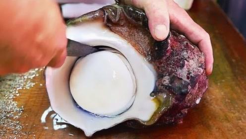 顶级厨师刀工有多厉害?看他处理海蜗牛就知道了!