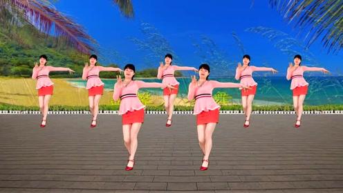 广场舞《花儿哪有阿妹俏》歌动听,舞简单,一样跳得有韵味