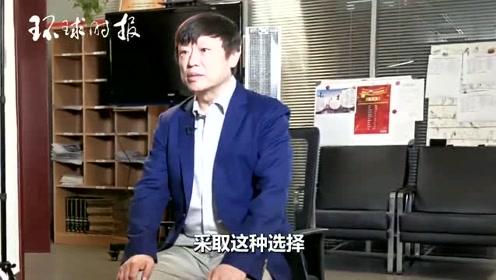 胡锡进接受CNN采访
