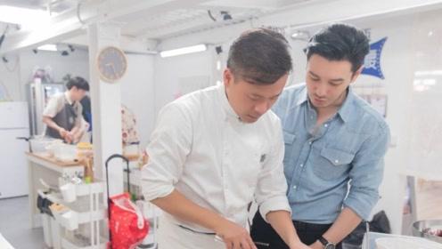 林大厨点赞diss黄晓明微博,《中餐厅》合伙人关系成迷