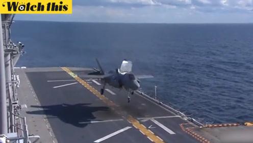 日本防卫省:正式决定斥巨资引进18架美国F35B隐形战斗机
