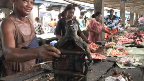 非洲最残忍的食物,却是当地人的最爱,网友:看着好像吃人呀!