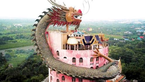 """泰国最""""霸气""""的寺庙:外部被一条巨龙包围,却拒绝被当成景点!"""
