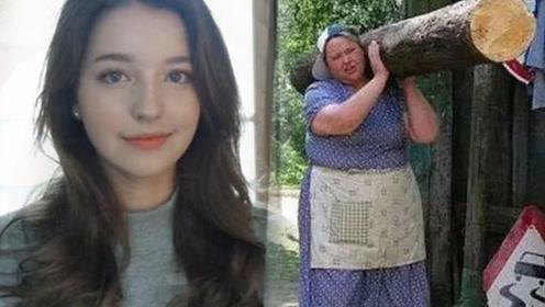 俄罗斯美女婚后竟秒变大妈?真相曝光后,网友直言:真是惋惜了!