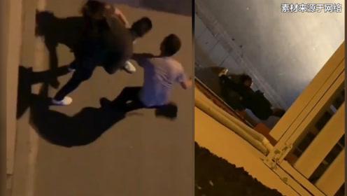 揪出此人!四川丹巴一女子深夜街头遭殴打 警方:连夜介入