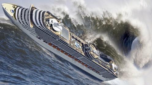 """海啸的破坏力究竟有多""""恐怖""""?若不是亲眼所见,神仙都不敢信"""
