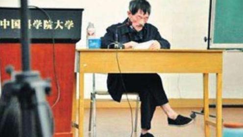 """清华大学的""""扫地僧"""",一双布鞋其貌不扬,享受副部级待遇"""