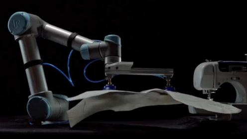 老外发明缝纫机器人,可自行缝纫组装衣服,大大降低制作成本