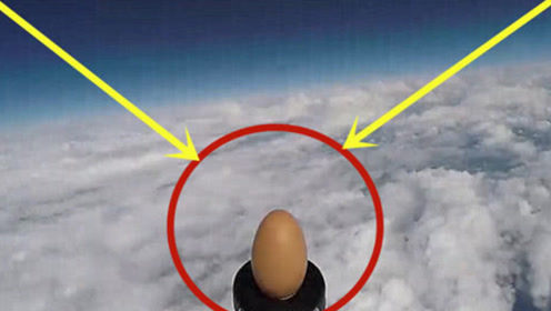 将鸡蛋送入太空,鸡蛋会发生什么变化?镜头拍下神奇画面!