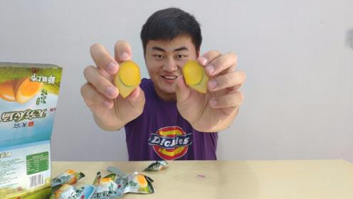 吃不起茶叶蛋,试吃无穷鸡蛋,一口气吃了两个
