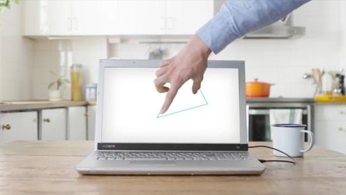 AIRBAR触屏笔电,能实现电影中的3D投影操控技术!