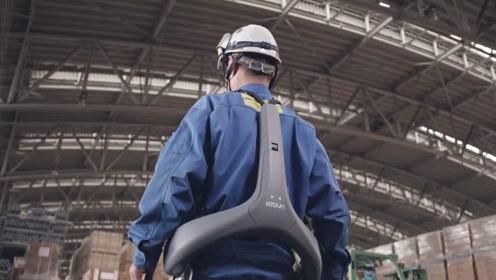 日本打造的动力辅助装置,让老人搬重物不费劲,还不用担心闪到腰
