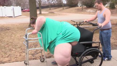 世界上最胖的女人,体重1450斤破世界纪录,却要继续增肥?