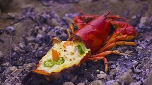 自己在家就能做的芝士焗龙虾,味道不比饭店差!一人一只太爽了!