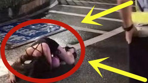 奔驰都不要了!妙龄女司机深夜拿绳子勒自己,还边跑边吐!