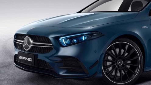 奔驰AMGA35将上市,前脸采用全新设计,最大306马力!