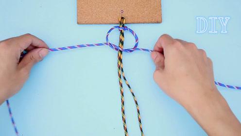 手工编绳:不好意思小姐姐,这款手绳是属于小哥哥的!
