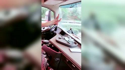 女司机婷姐这还是开车的吗?