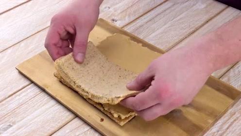 美味的苹果酥小蛋糕,你喜欢这个造型吗