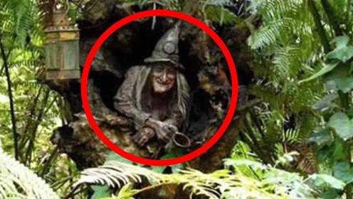 拍摄到的四个疑似女巫的视频