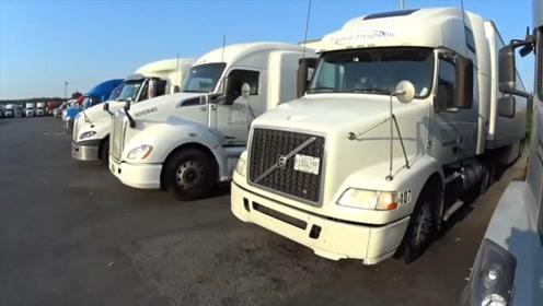 很好奇,为什么国外的卡车大多都是尖头?而在国内很少见到