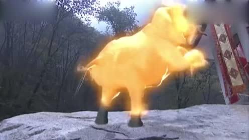 普贤真人对白象坐骑满意!感谢师尊赏赐宝物!这多拉风!