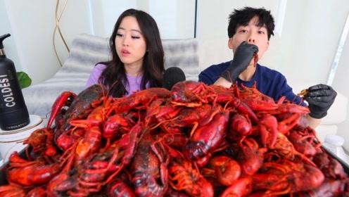 """大胃王吃播套路多,就吃这么点小龙虾,还被发现了""""猫腻"""""""