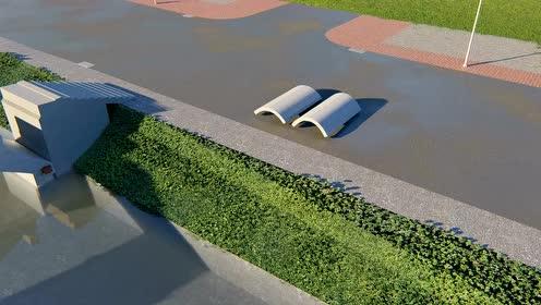3D打印装配式赵州桥施工动画