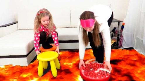 熔浆流进了小萝莉的家里,吓得小萝莉失声尖叫,幸好有妈妈在!