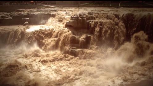 黄河博物馆播放的《黄河调水调沙》3D动画片