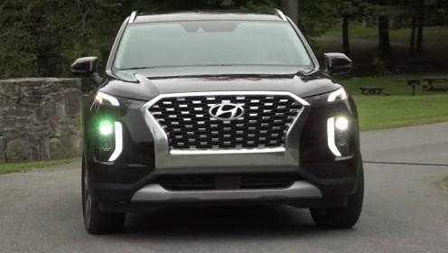 2020现代Palisade,看看韩系第一尺寸SUV长啥样?
