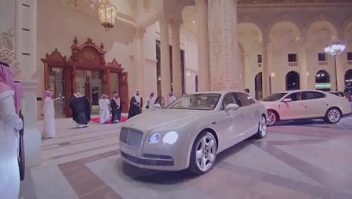 沙特王子豪车盘点,送100辆宾利给飞行员,480万美元定奔驰