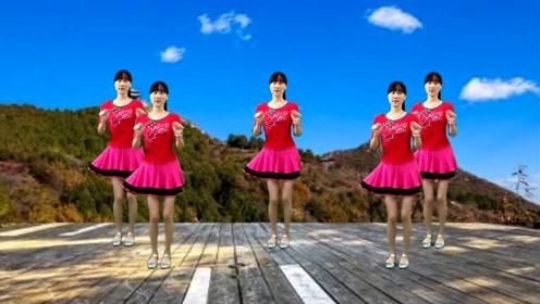 网红歌曲广场舞《爱情临时工》动感时尚,32步简单大气更好看!