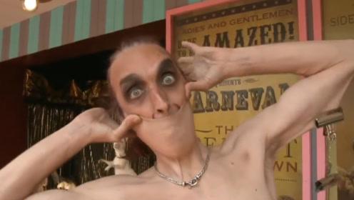 世界上皮肤最有弹性男人,脖子皮肤能盖住半张脸,真是不敢想象!